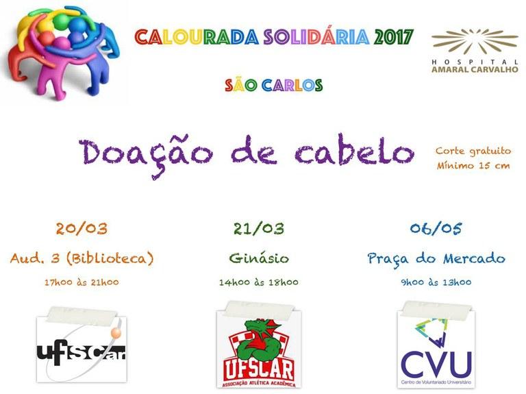Calourada Solidária 2017